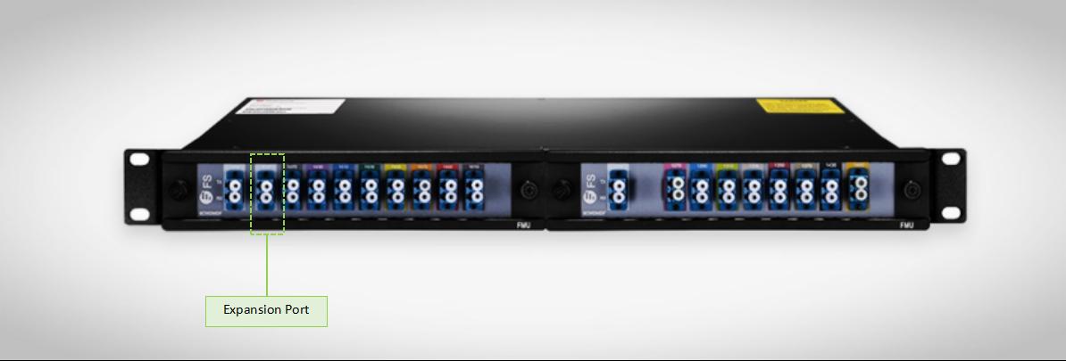 fmu-2-slot-16ch CWDM Mux/DeMux