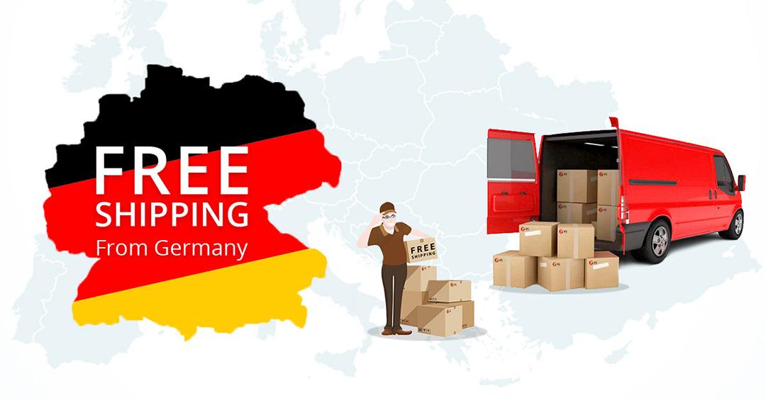 German warehouse free shipping