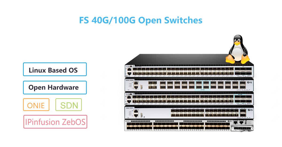 fs 40G/100G white box switches