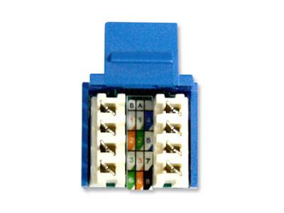 Connecteurs Keystone Cat5e Cat6, Cat 5 Wiring Diagram Wall Jack A Or B