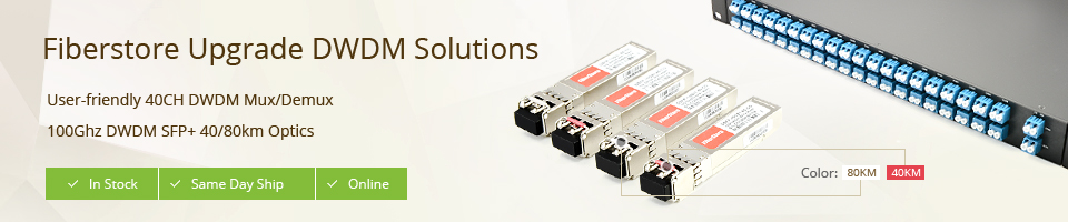 Fiberstore DWDM solution