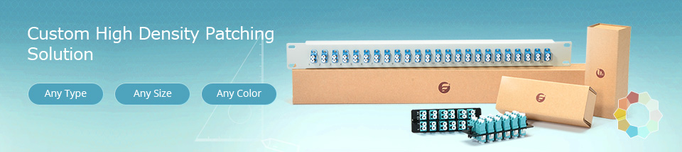 Fiberstore high density patching solution