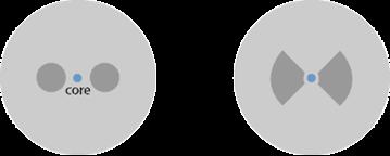 PANDA Fiber and Bow-tie Fiber