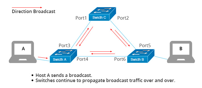 Broadcast-storm