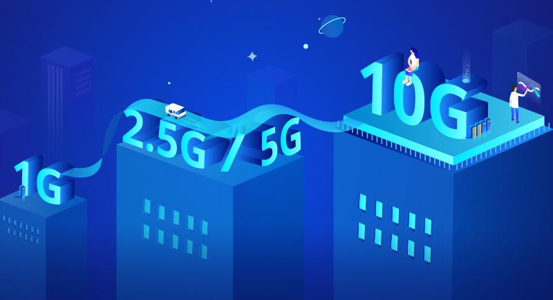 Bridge to 2.5G, 5G and 10G with Multigigabit technology