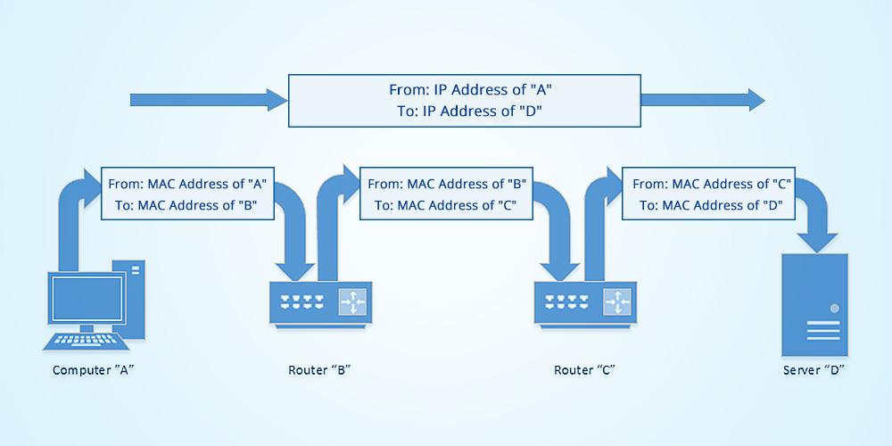 l'adresse Mac-1