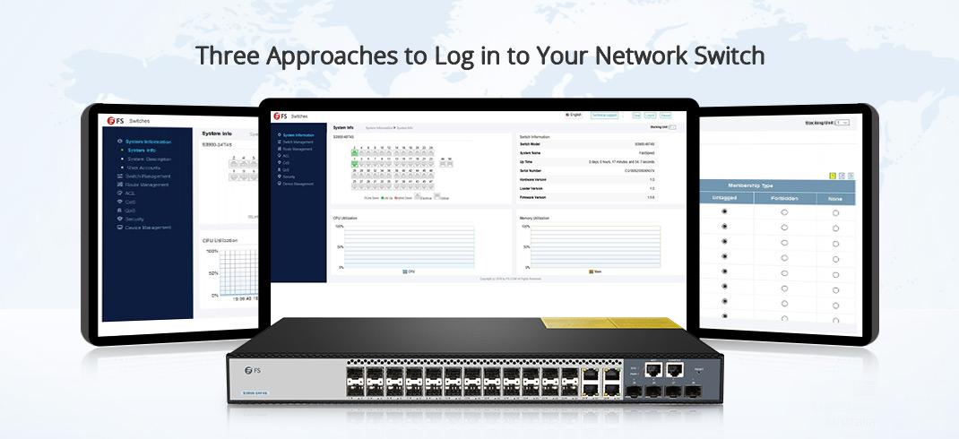 méthodes pour se connecter à votre commutateur réseau
