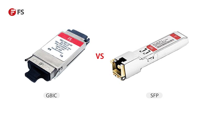SFP su volumen representa tan sólo la mitad del módulo GBIC