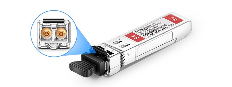 fs sfp28 25g para conexión 25GbE