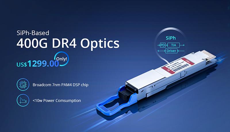 QSFP-DD 400GBASE-DR4