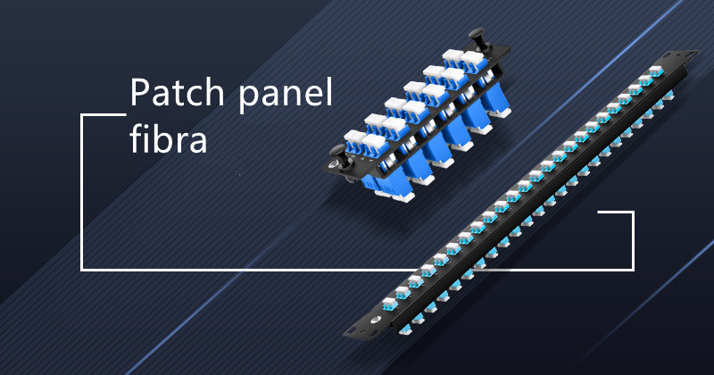 Patch panel de fibra