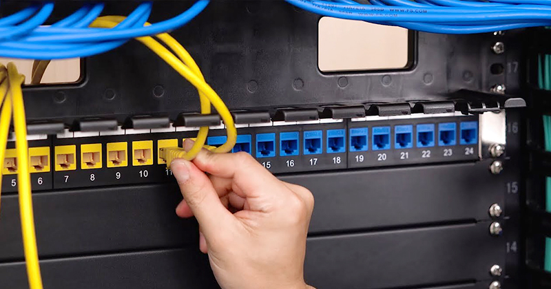 Patch panel ethernet