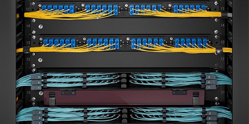 Patch panel fibra óptica