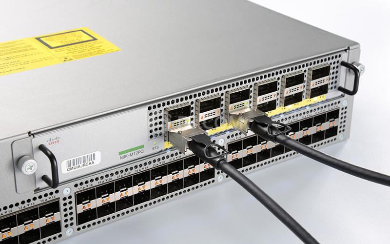 Cable DAC conecta a cisco switch