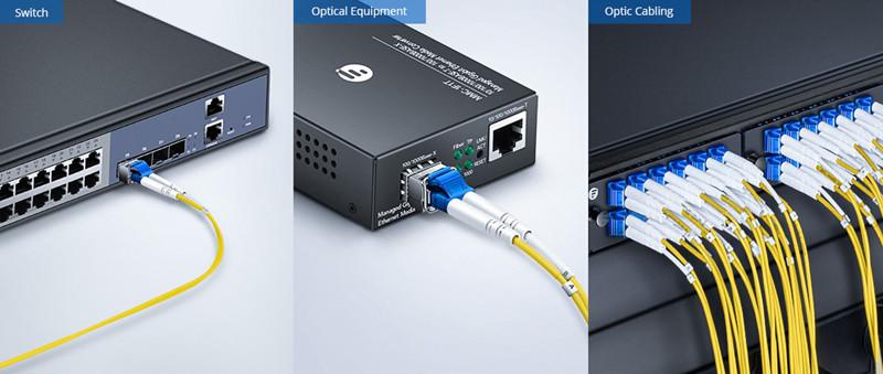 Aplicacaiones de FS cable fibra monomodo