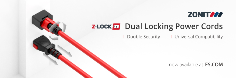 Z-LOCK câbles d'alimentation C14-C13