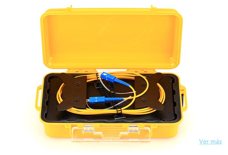 Caja de cable de lanzamiento OTDR