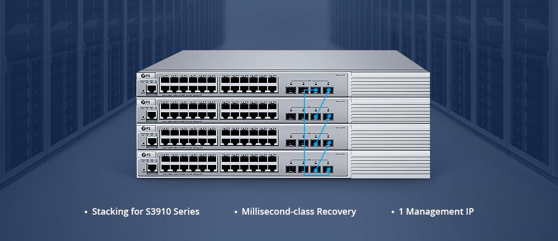 Apilamiento entre FS switch S3900
