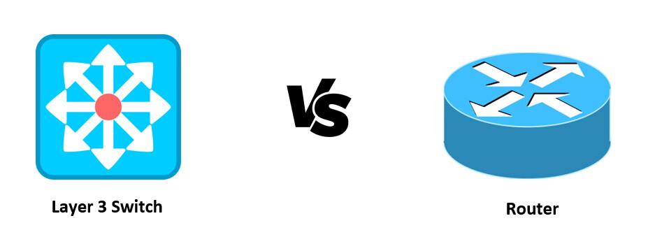 Switch de capa 3 vs router