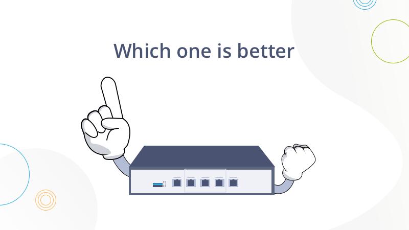 Routeur d'entreprise ou routeur domestique, quelle est la meilleure option ?