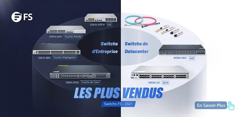 Portefeuille de switchs FS pour entreprise de toutes tailles