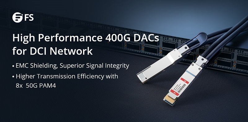 FS 400G DAC Cables