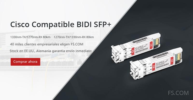 Cisco BiDi SFP+