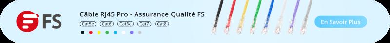 Câble Ethernet RJ45 FS France