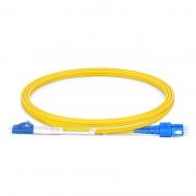 Cable fibra óptica LC UPC a SC UPC