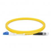 Cable fibra óptica LC UPC a ST UPC