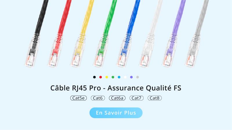 Câble rj45 pro - FS.COM