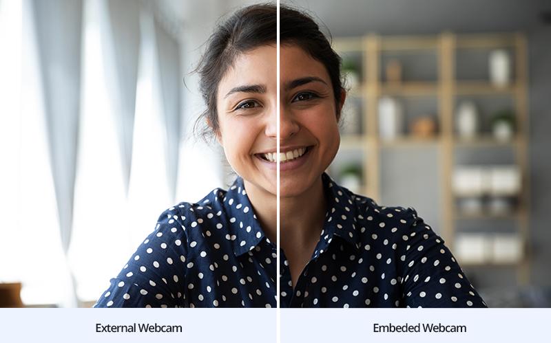 Différences entre webcam externe et caméra intégrée