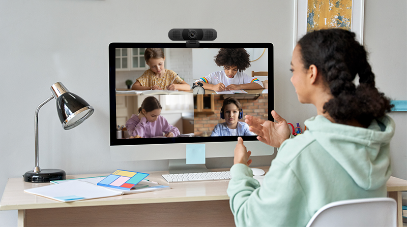 Use a Webcam Teaching from Home