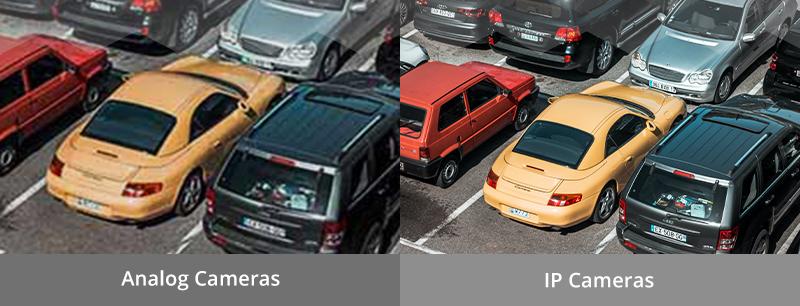 Comparison Between Analog Cameras and IP Cameras