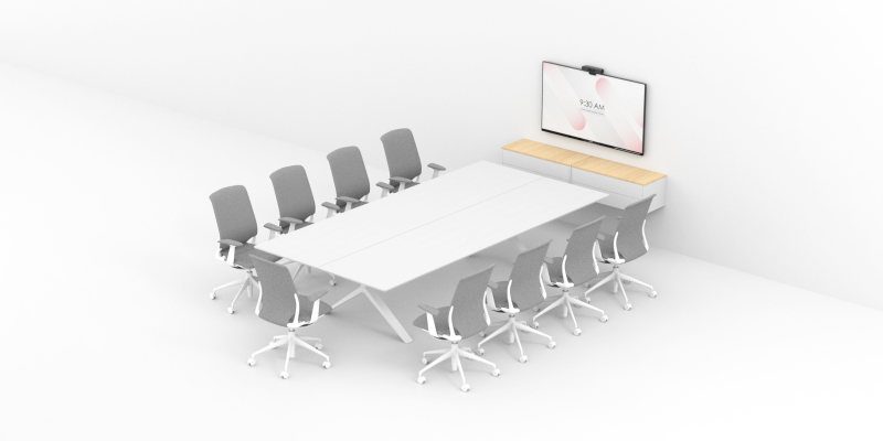 Mid-sized Meeting Rooms for Video Conferencing