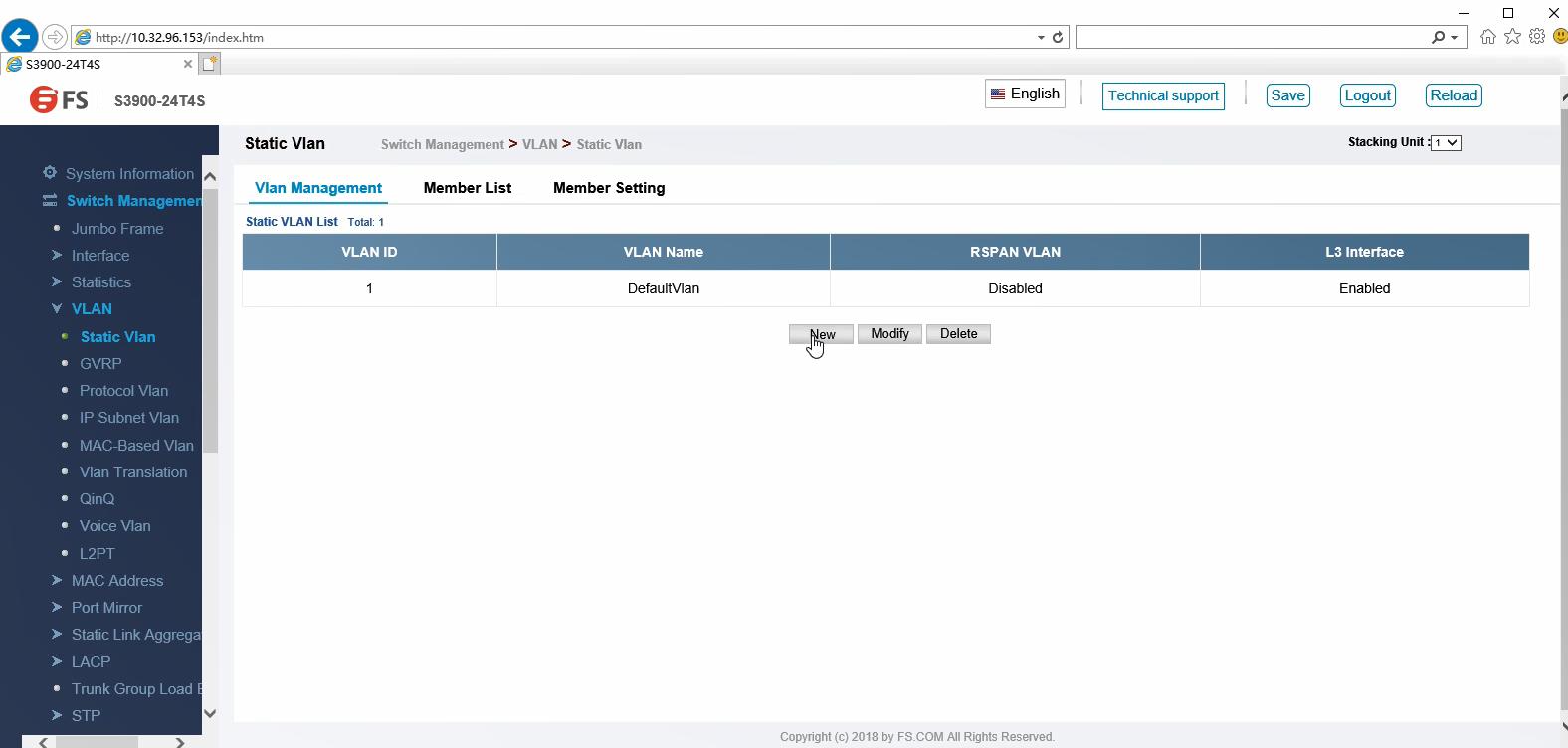 Configuration du VLAN via une interface graphique Web.png