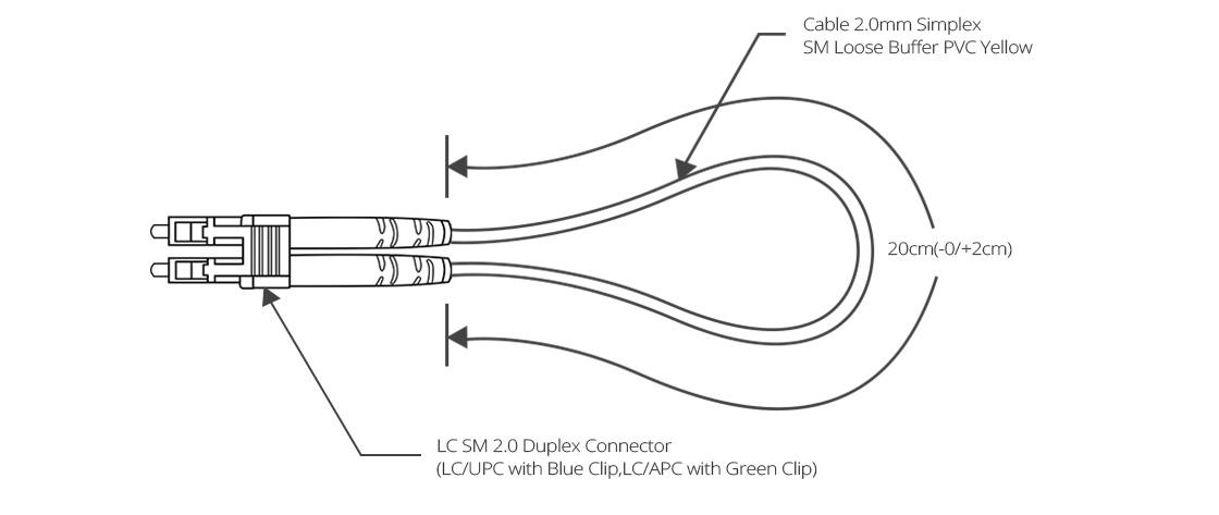 Fiber Loopback Cable