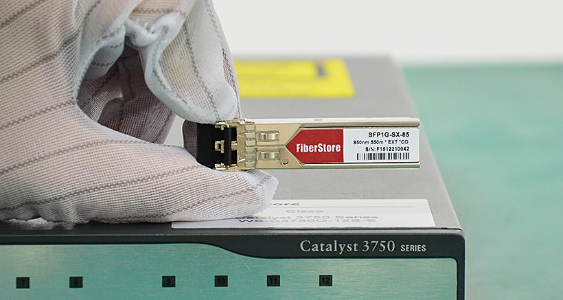 Cisco catalyst 3750 series switch and FS.COM optics