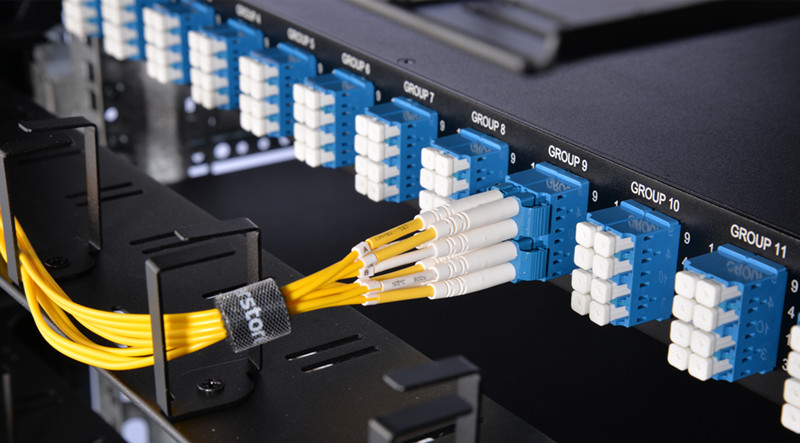 MTP-LC breakout patch panel