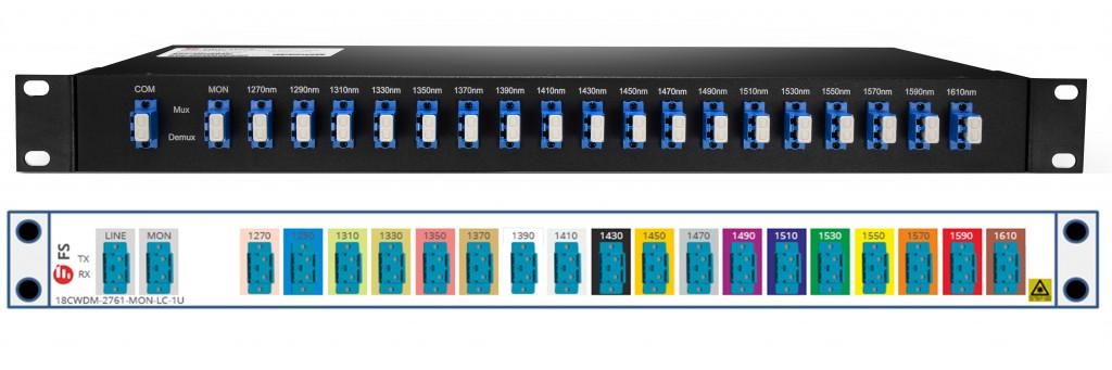 18-ch-cwdm-mux-demux-front-panel