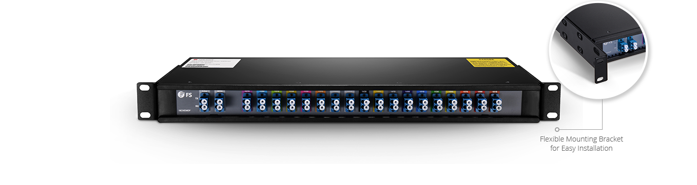 18 channel cwdm mux demux