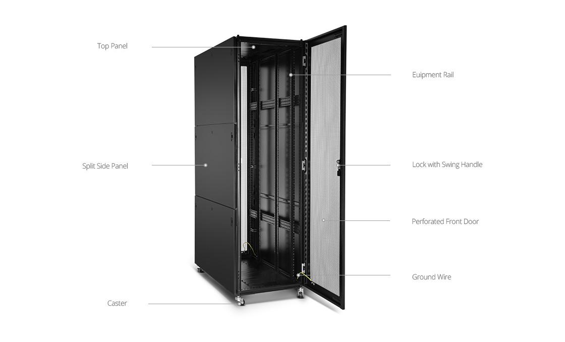 Cabinet de serveur pour centre de données