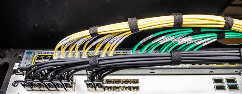 secure sfp+ direct atttach copper cable with management tool