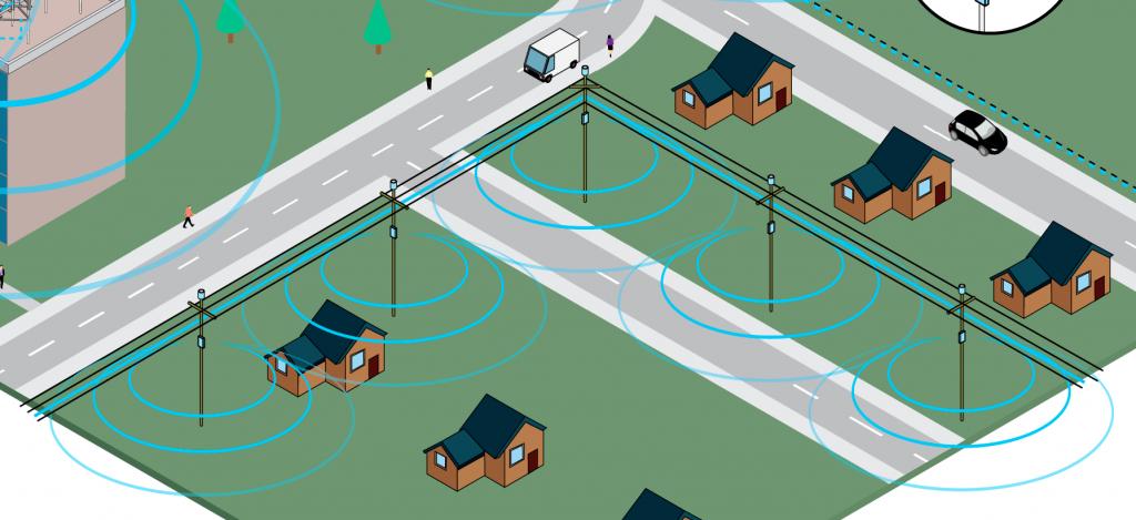 fiber optic wireless network