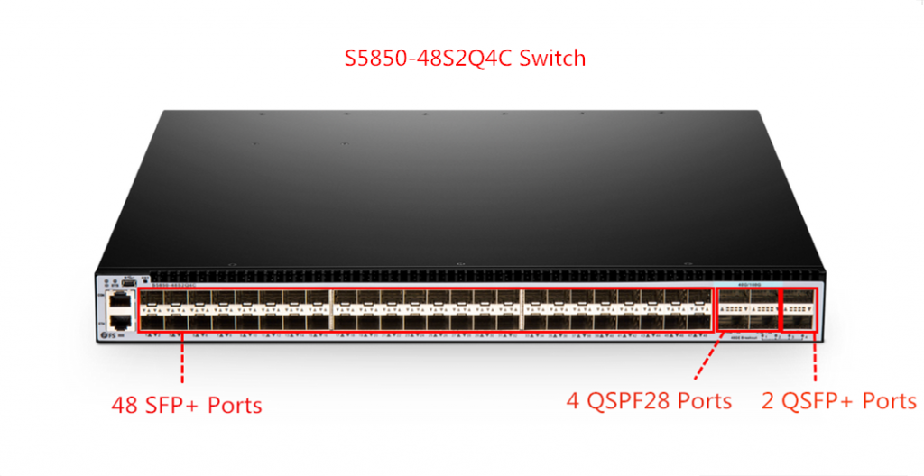 S5850-48S2Q4C 100G switches