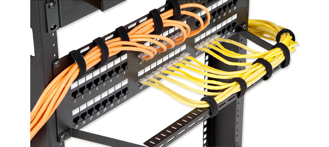 feedthrough patch panel cabling