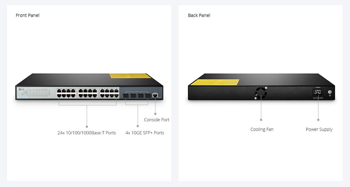 S3700-24T4S SMB 10G LAN Switch