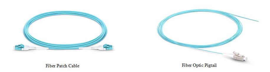 fiber pigtail vs fiber optic patch cord
