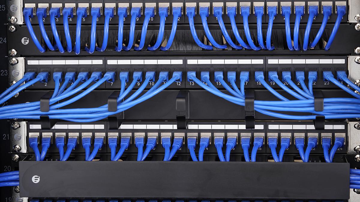 gestionnaire pour câblage horizontal