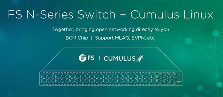 FS N5850-48S6Q with Cumulus Linux